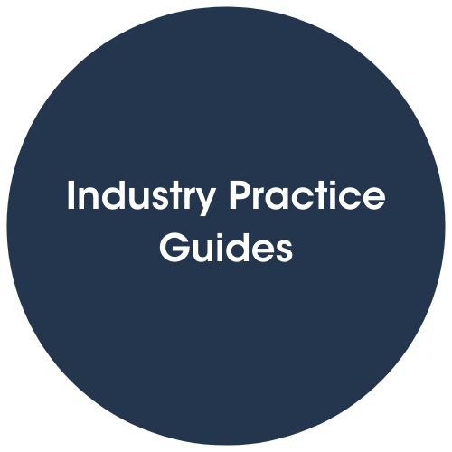 Click to view Industry practice guides